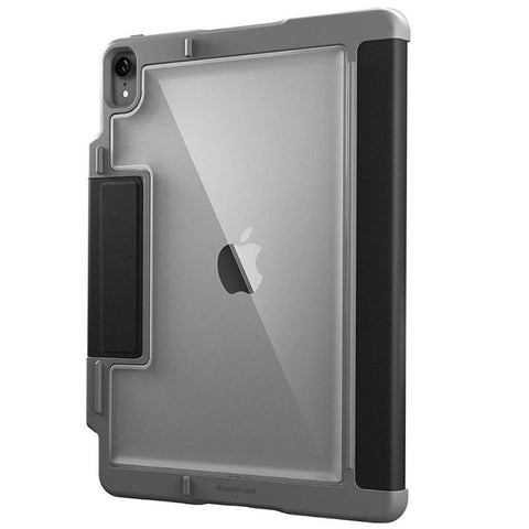 black folio case from stm australia for ipad pro 12.9 inch 2018. buy online only at syntricate and get free shipping