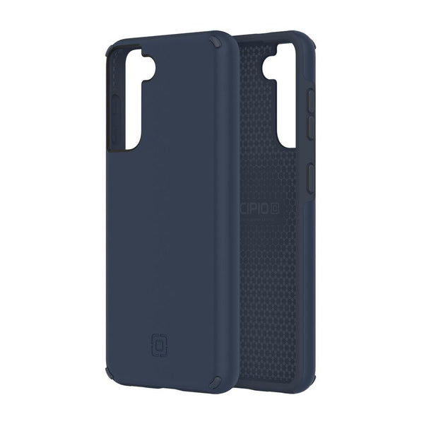 Dual layer case for your Galaxy S21 5G from INCIPIO Australia. Blue doff color with drop protection. Dual function & germ free.