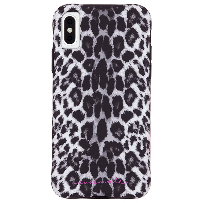 the best attitude b58cc c170b CASEMATE WALLPAPER STREET CASE FOR IPHONE XS MAX - GREY LEOPARD