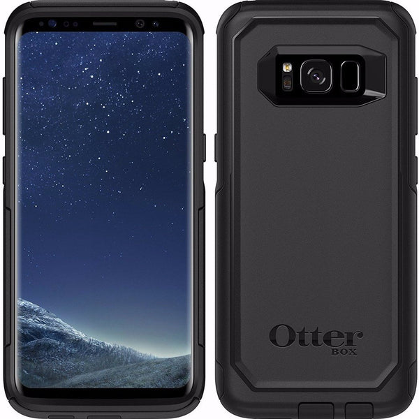 OTTERBOX COMMUTER DUAL LAYER CASE FOR GALAXY S8+ (6.2 inch) - BLACK