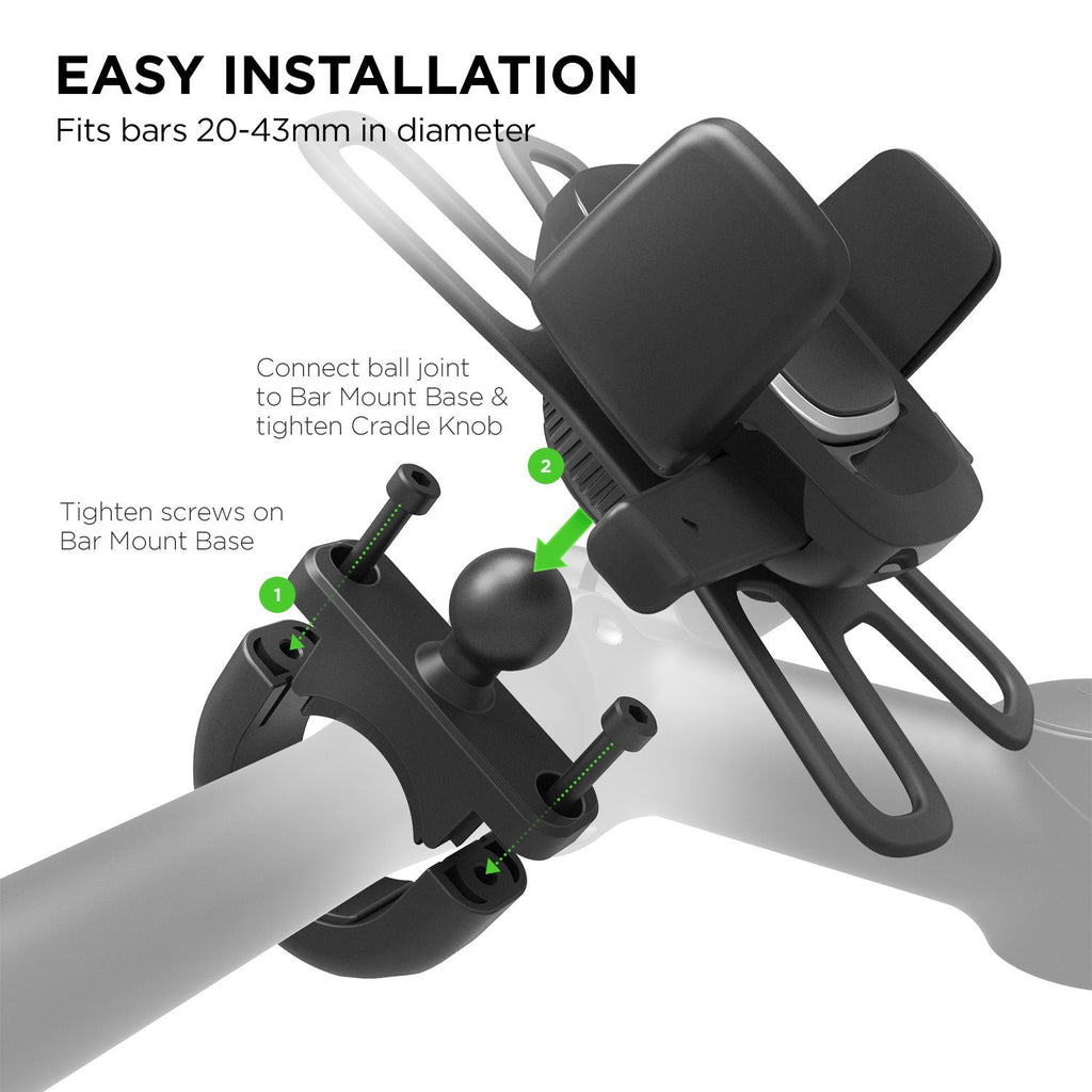 Shop Australia stock IOTTIE Easy One Touch 4 Bike Stem & Handlebar Mount for iPhone/SmartPhones with free shipping online. Shop iottie collections with afterpay Australia Stock
