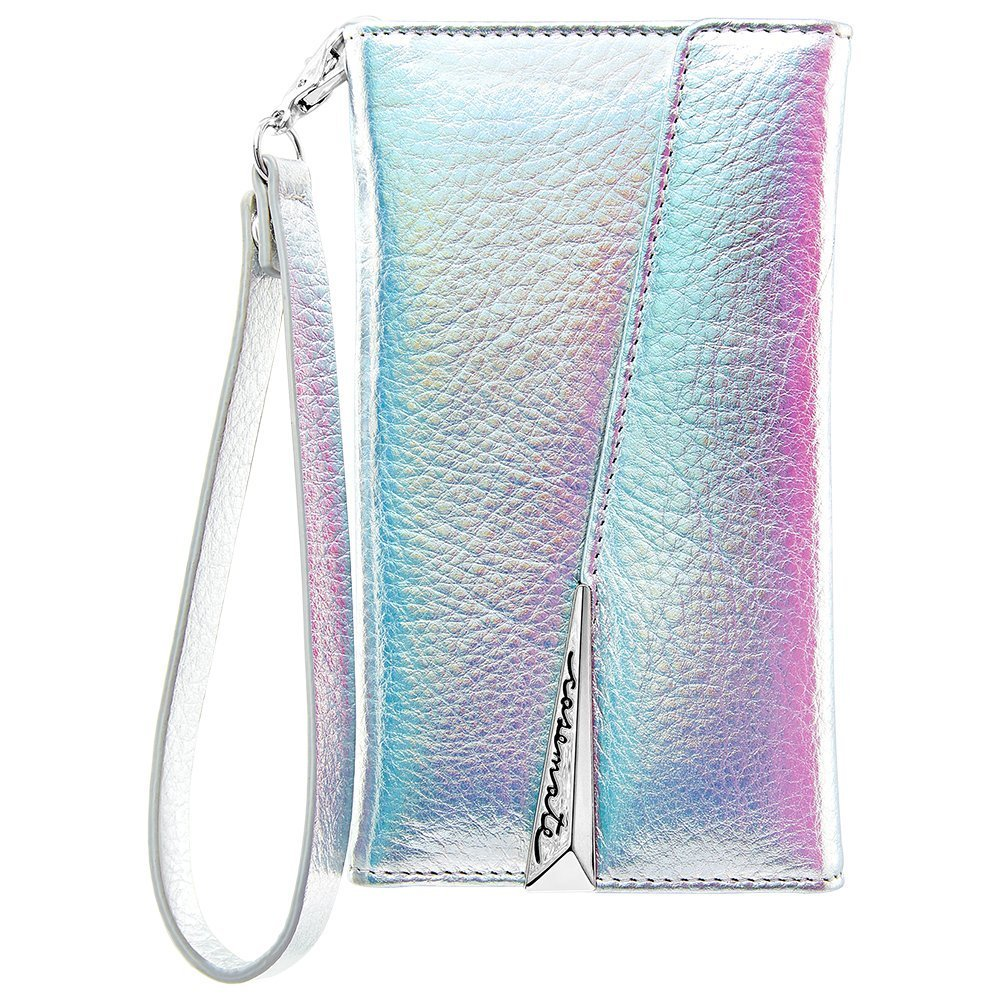 for sale casemate wristlet leather card folio case for iphone 8/7/6s - iridescent. Free shipping express australia from authorized distributor. Australia Stock