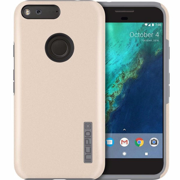 Where Place to buy original and genuine Incipio DualPro Case for Google Pixel XL - Champagne / Gray. Authorized distributor and trusted official online store offer Australia wide free delivery on Syntricate.