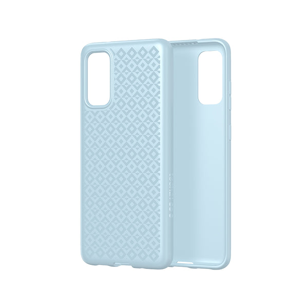 Blue Aqua series with bulletshield design for samsung s20. Great case with ultra slim and antimicrobial protection