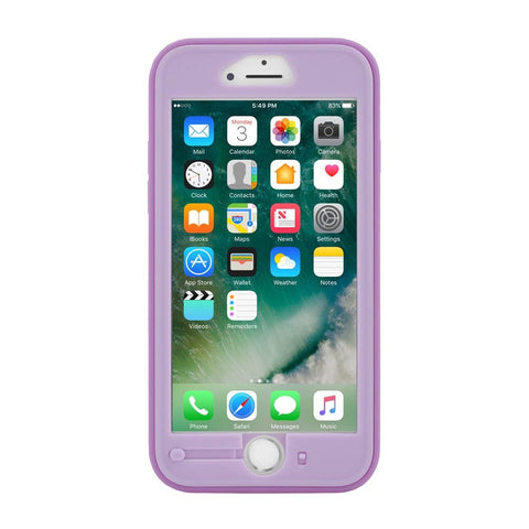 INCIPIO KIDDY LOCK CHILDPROOF HOME BUTTON CASE FOR IPHONE 8/7/6S/6 - PURPLE