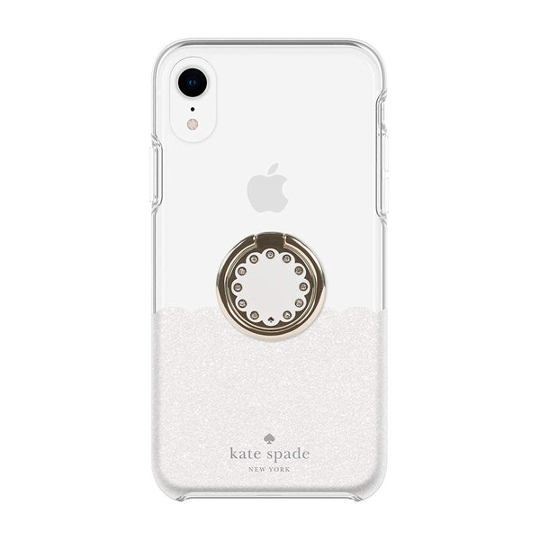 white case with ring for iphone xr from kate spade