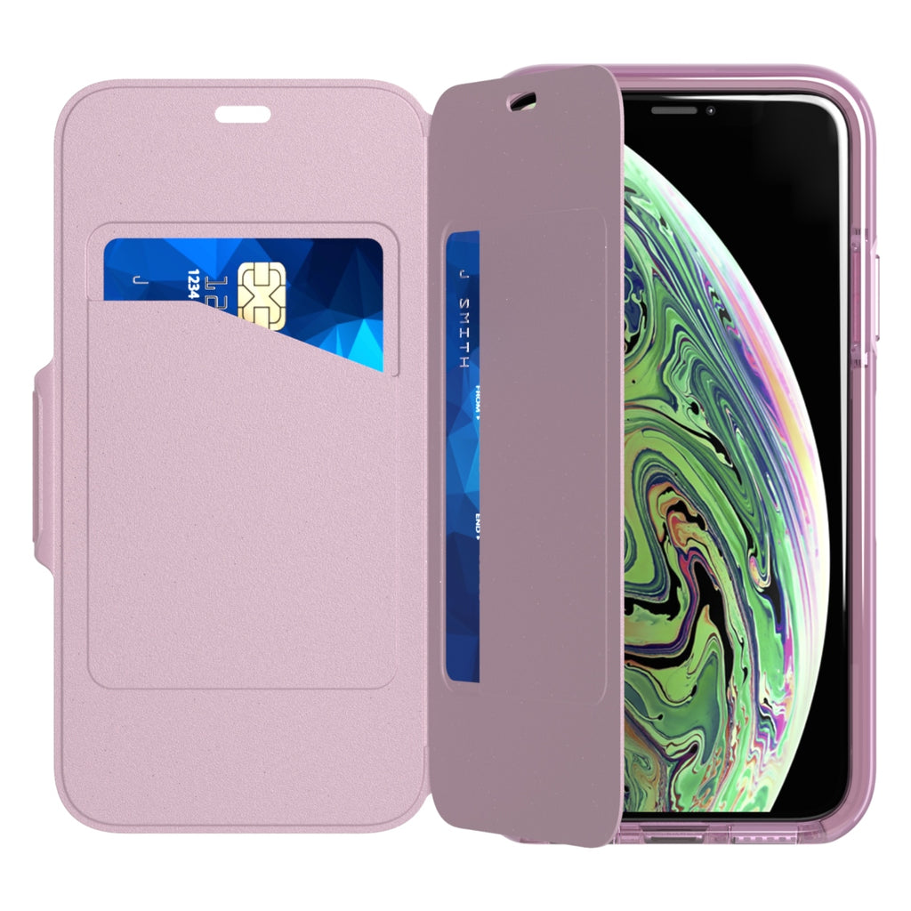 Store up to 3 cards case for iPhone XS Max Australia with devider that will protect your screen Australia Stock