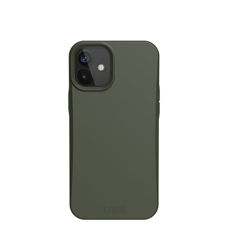 "Get the latest iPhone 12 Mini (5.4"") UAG Outback Biodegradable Composite Rugged Case - Olive Drab Online local Australia stock."