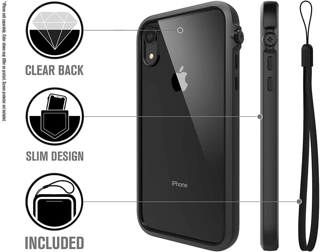 CATALYST IMPACT PROTECTION CASE FOR IPHONE XR - STEALTH BLACK Australia Stock