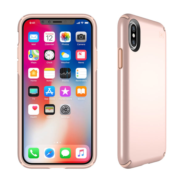 best place to buy authorized online store genuine speck presidio metallic case for iPhone XS / iPhone X rose gold / dahlia peach colour