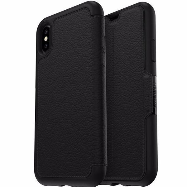 Place to shop and buy genuine and authentic products from Otterbox Strada Leather Card Folio Case For Iphone XS/X - Black (Shadow). Free express shipping Australia wide only on trusted and official online store Syntricate.