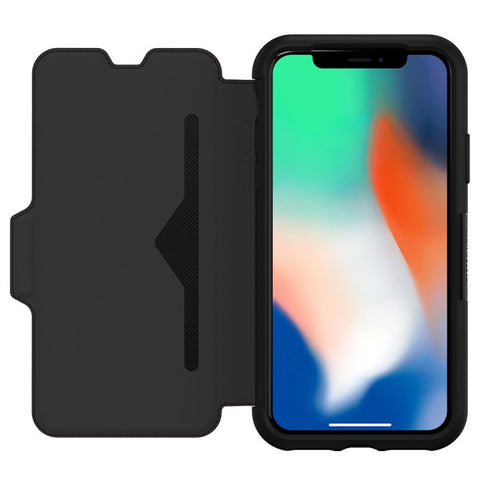 Shop Australia stock OTTERBOX STRADA LEATHER CARD FOLIO CASE FOR IPHONE XS/X - BLACK (SHADOW) with free shipping online. Shop OtterBox collections with afterpay