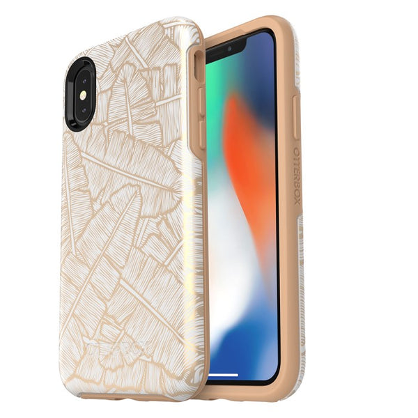 Trusted official online store to shop and buy Otterbox Symmetry Graphics Stylish Case For Iphone X - White/Roasted Tan. Free express shipping Australia wide only at Syntricate.