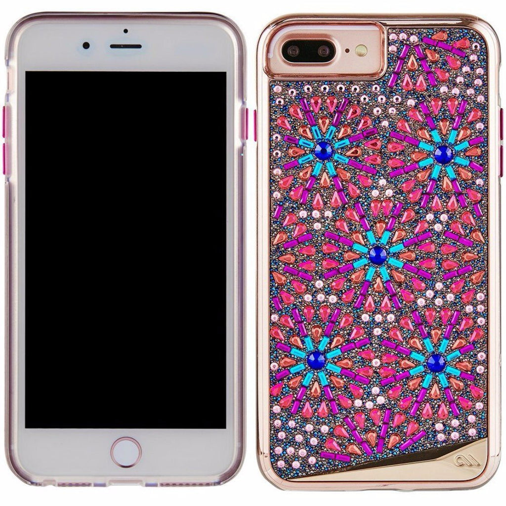 timeless design a5ce8 ad552 CASEMATE BRILLIANCE TOUGH GENUINE CRYSTAL CASE FOR iPHONE 8 PLUS/7 PLUS  -BROOCH