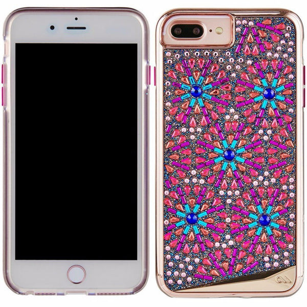 cute and edgy casemate brilliance tough genuine crystal case for iphone 8 plus/7 plus -brooch designer case australia