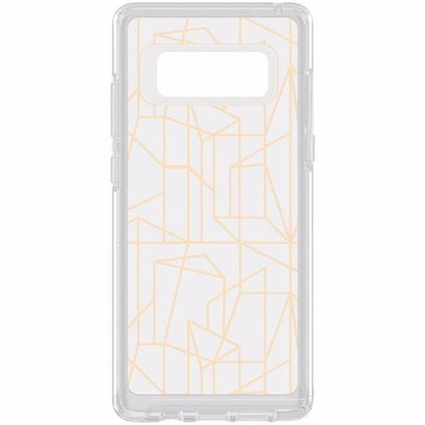 OTTERBOX SYMMETRY CLEAR GRAPHICS SLIM CASE FOR GALAXY NOTE 8 - DROP ME A LINE
