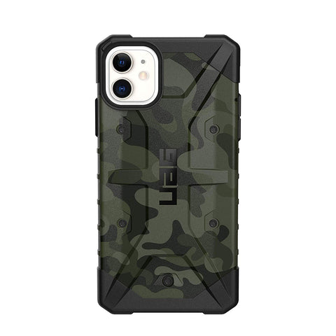 "Shop Australia stock UAG Pathfinder SE Feather-Light Rugged Case For iPhone 11 (6.1"") - Forest Camo with free shipping online. Shop UAG collections with afterpay"