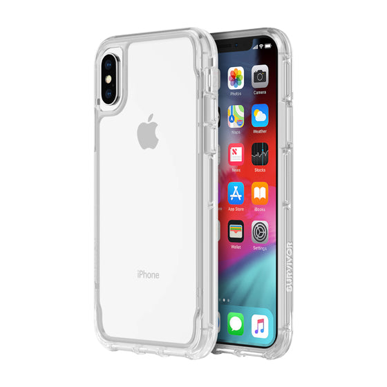 iPhone Xs & iPhone X Clear case from Griffin Survivor Australia Free shipping Australia Stock