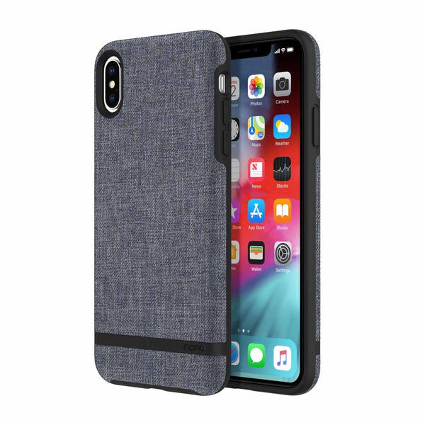 blue iPhone Xs & iPhone X incipio carnaby esquire business case australia