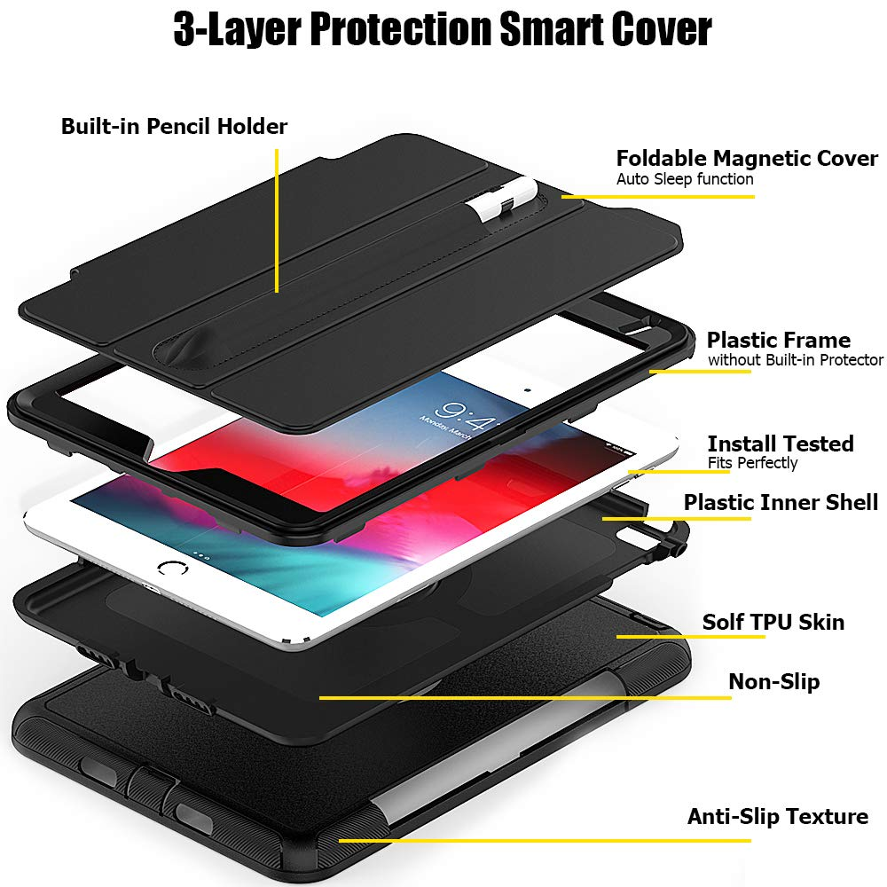 Shop Australia stock FLEXII GRAVITY Rugged Smart Cover Case for iPAD Mini 5/4 - Black with free shipping online. Shop FlexiiGravity collections with afterpay Australia Stock