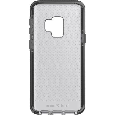 TECH21 EVO CHECK FLEXSHOCK CASE FOR GALAXY S9 - SMOKEY/BLACK