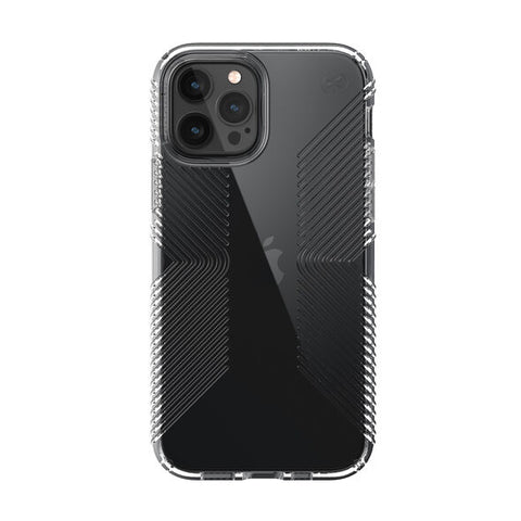 "Shop off your new iPhone 12 Pro/12 (6.1"") SPECK Presidio Perfect-Clear with Grips Case - Clear Australia authentic from authorised reseller with afterpay & return policy."