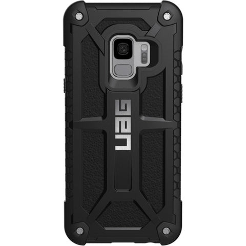 Back View UAG Monarch Alloy and leather for Galaxy S9