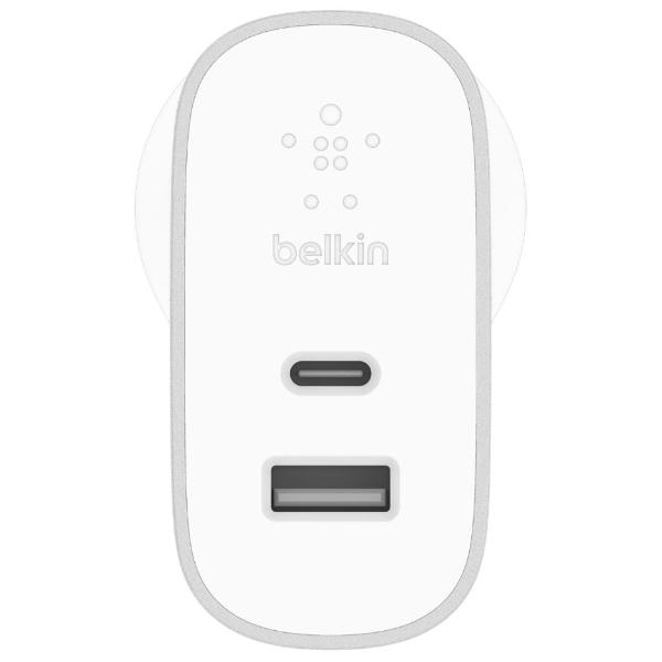 Get the latest stock BOOST CHARGE 27W USB-C + 12W USB-A WALL CHARGER - SILVER FROM BELKIN free shipping & afterpay. Australia Stock