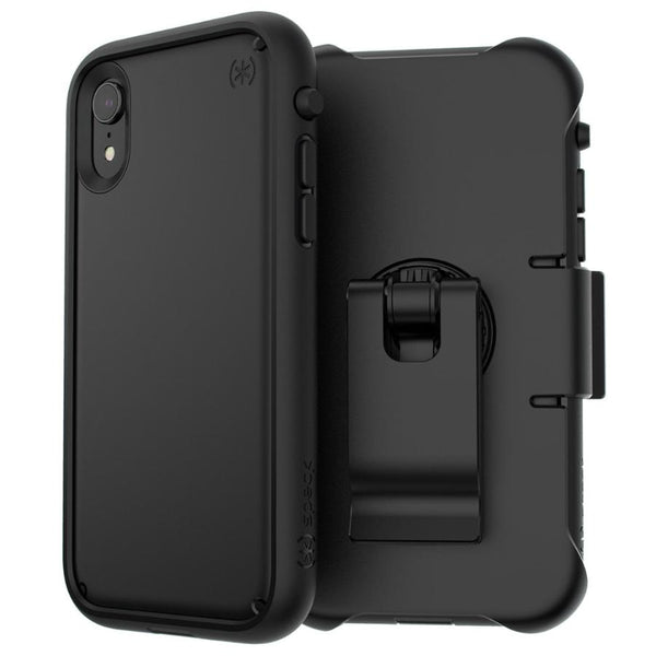 drop proof case for iphone xr black colour from speck australia. Shop from Australia biggest online store for iPhone XR & speck that Comes with free shipping, return warranty & afterpay payment