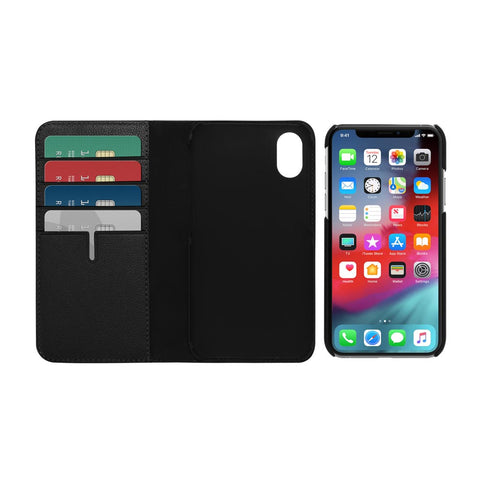 iPhone Xs & iPhone X Leather openable case from Tumi