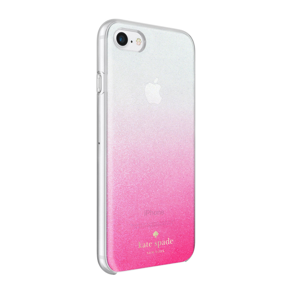 Shop Australia stock KATE SPADE NEW YORK HARDSHELL CASE FOR iPHONE 8/7 - GLITTER OMBRE PINK with free shipping online. Shop Kate Spade New York collections with afterpay Australia Stock