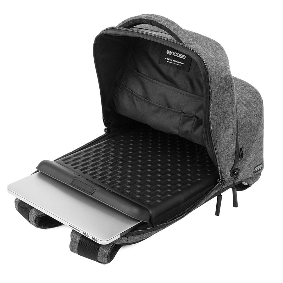 backpack for macbook 15 inch heather black australia Australia Stock