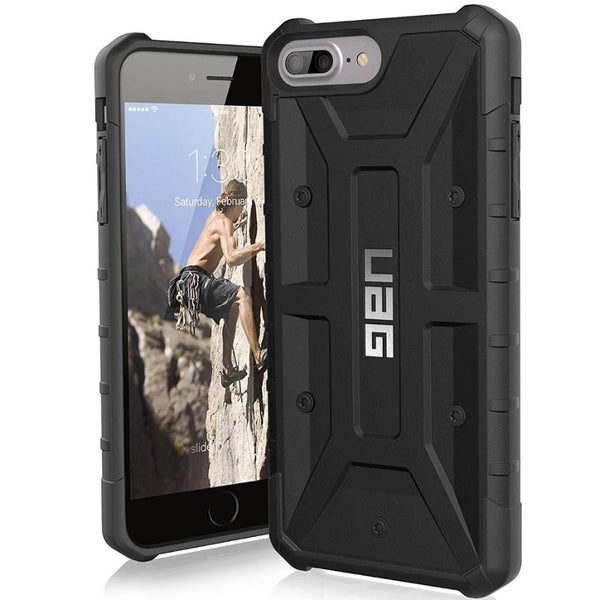 black case for iphone 8 plus iphone 7 plus iphone 6s plus iphone 6 plus. buy online and get free shipping