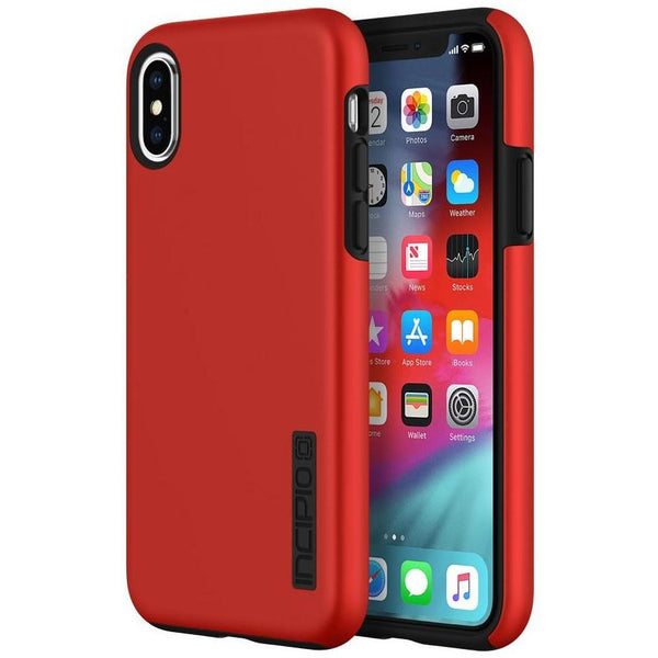 iPhone Xs & iPhone X red incipio dualpro case with free shipping