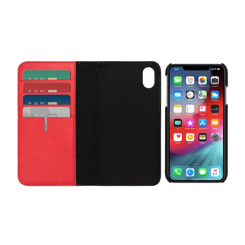 Get the latest stock fast LEATHER WALLET CARD FOLIO CASE FOR IPHONE XS MAX - EMBER FROM TUMI free shipping & afterpay.