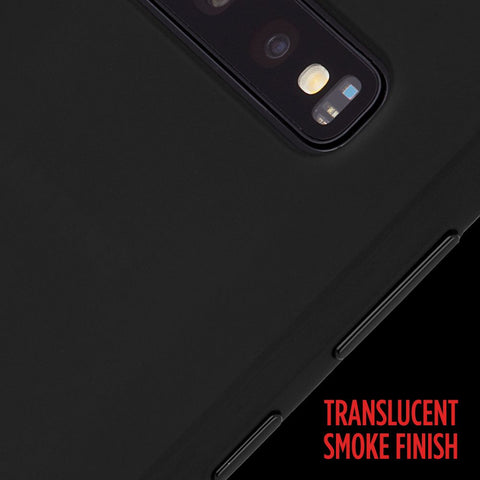 SAMSUNG GALAXY S10 with translucent finish from Casemate Australia Black