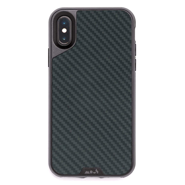 iPhone Xs & iPhone X Carbon fibre style case from mous australia, free shipping