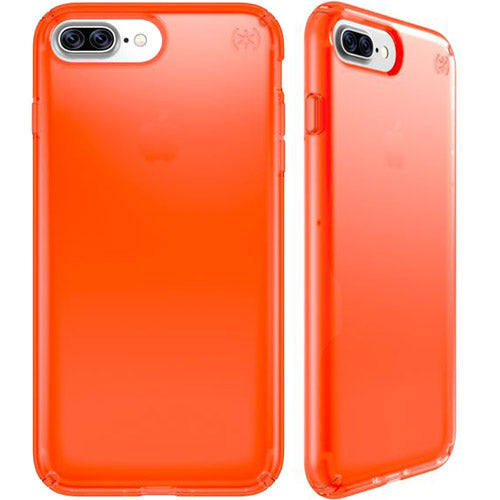 Official store and place to buy genuine and authentic Speck Presidio Clear Neon Case For Iphone 8 Plus/7 Plus - Tangerine Orange. Free shipping Express Australia from Authorized distributor.