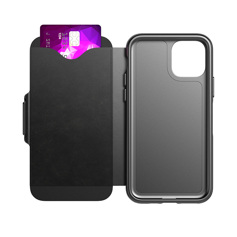 "Shop Australia stock Tech21 Evo Wallet Folio Case For iPhone 11 Pro (5.8"") - Black with free shipping online. Shop TECH21 collections with afterpay Australia Stock"