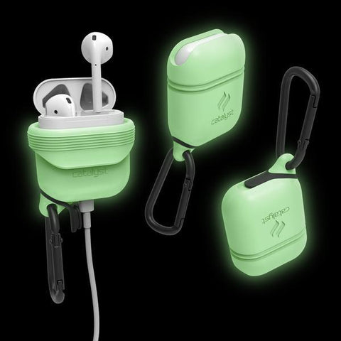 Place to buy WATERPROOF CASE FOR AIRPODS-GLOW IN THE DARK From CATALYST online in Australia free shipping & afterpay.