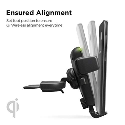 Shop Australia stock IOTTIE Easy One Touch Wireless Fast Charging CD Slot Mount For QI Enabled Devices with free shipping online. Shop iottie collections with afterpay Australia Stock