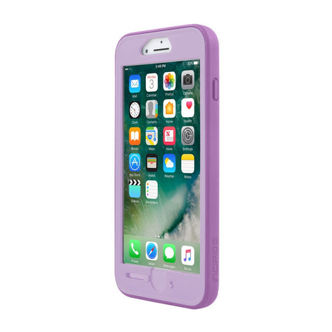 INCIPIO KIDDY LOCK CHILDPROOF HOME BUTTON CASE FOR IPHONE 8 PLUS/7 PLUS/6S PLUS - PURPLE