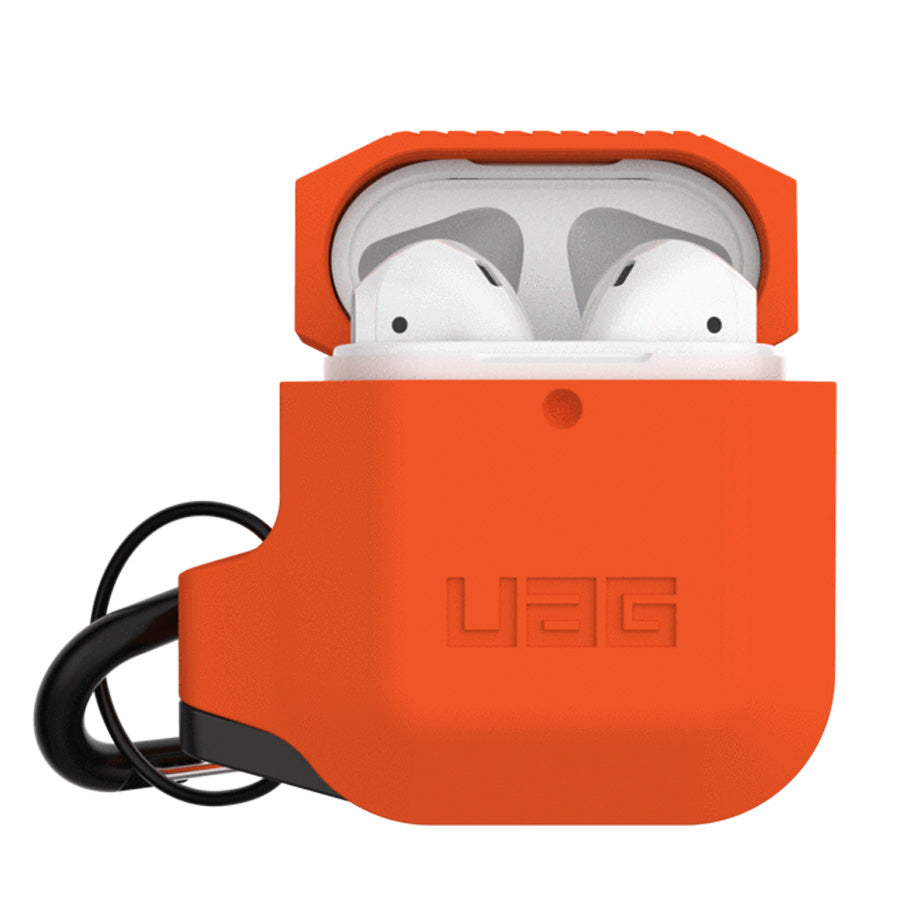 buy online orange rugged slim case for airpods 1/2 gen Australia Stock