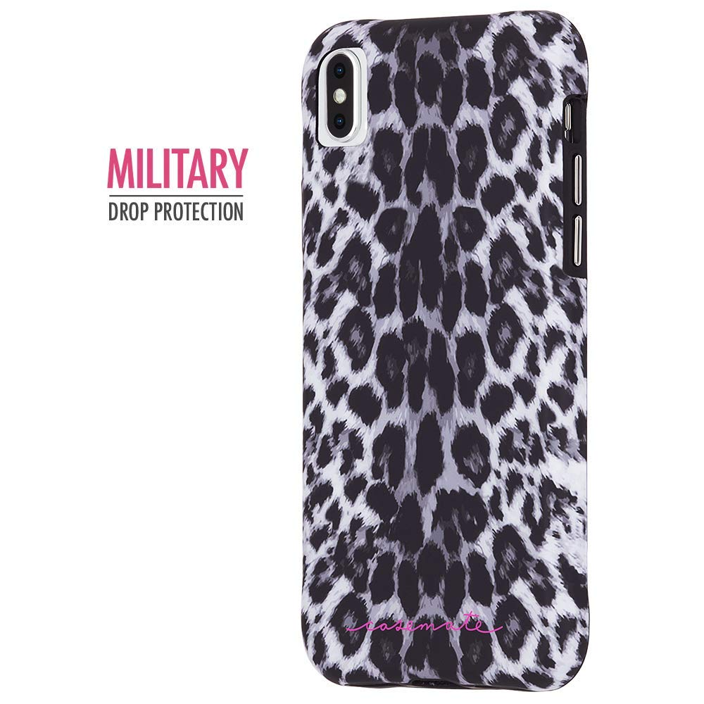 Shop Australia stock CASEMATE WALLPAPER STREET CASE FOR IPHONE XS MAX - GREY LEOPARD with free shipping online. Shop Casemate collections with afterpay Australia Stock