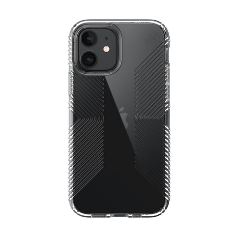 "Shop Online from Australia biggest online Case & Accessories iPhone 12 Mini (5.4"") SPECK Presidio Perfect-Clear with Grips Case - Clear with free shipping Australia wide."