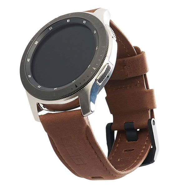 Browse Online Australia stock UAG Leather Watch Strap For Galaxy Watch Band 46mm/Gear S3 Frontier & Classic - Brown with free shipping online. Shop Syntricate collections with afterpay