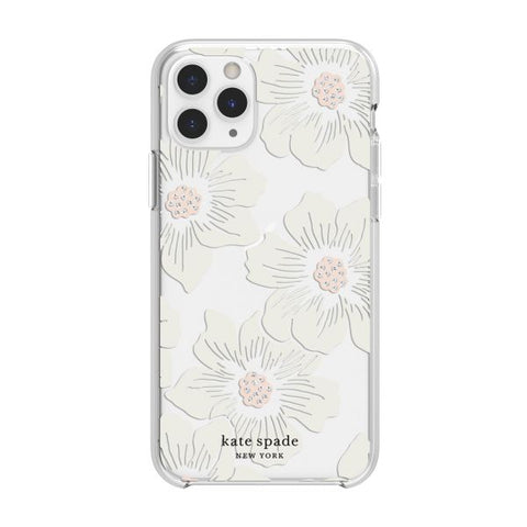 flower clear iphone case for iphone 11 pro. girly clear case