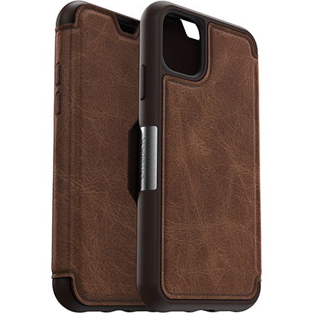 Otterbox Strada Leather Folio Wallet Case For iPhone 11 (6.1
