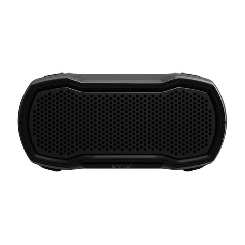 BRAVEN READY SOLO PORTABLE OUTDOOR WATERPROOF SPEAKER - BLACK/TITANIUM