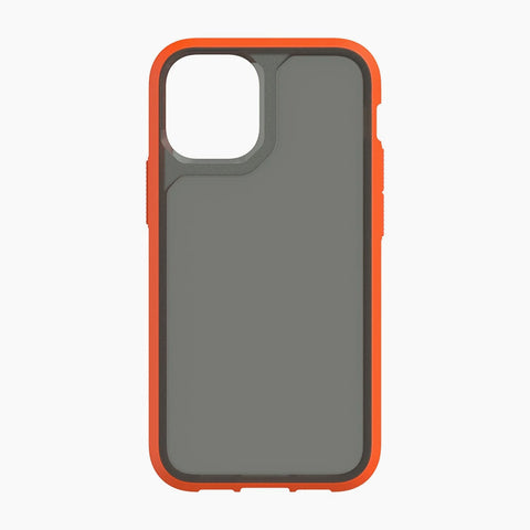 "Shop off your new iPhone 12 Pro Max (6.7"") GRIFFIN Survivor Strong Rugged Case - Orange/Gray Online local Australia stock."